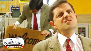 Mr. Beans Wäsche für den Weihnachtstag