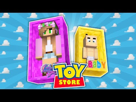 LITTLE KELLY HAS A NEW BABY DOLL?! Minecraft ToyStore