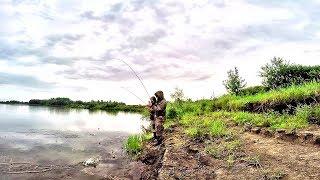 НАЛОВИЛИ ОКУНЕЙ С КОТЛОВ! Оторвались на спиннинг! Рыбалка на окуня