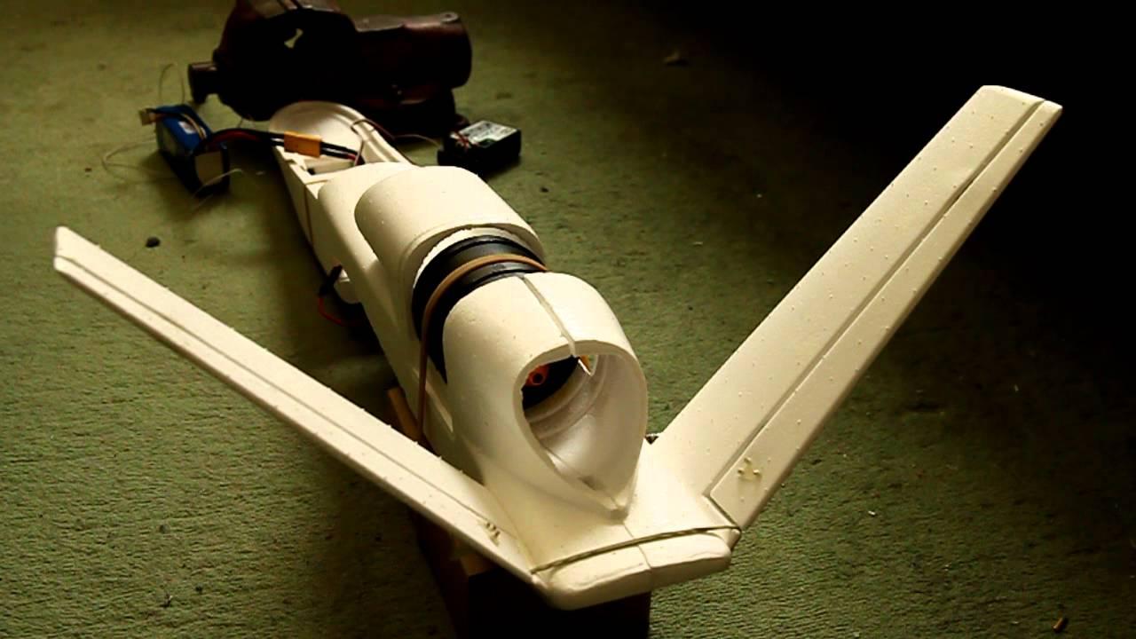 GlobalHawk UAV - 70mm Ducted fan testing