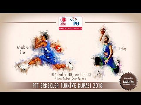 Anadolu Efes - Tofaş PTT Türkiye Kupası Final Maçı