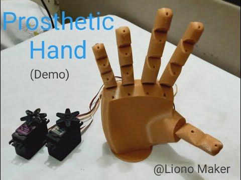 Making A Robotic Hand With EMG Sensor | Liono Maker