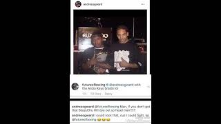Andre Ward ether's Jermall Charlo on IG, With the Clap Back of the Year!!!