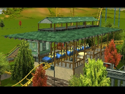 RCT3 Tutorial- Building a Station with no Custom Scenery
