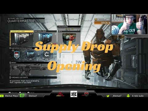 SUPPLY DROP OPENING!! 500+ KEYS AND 4000+ SALVAGE POINTS