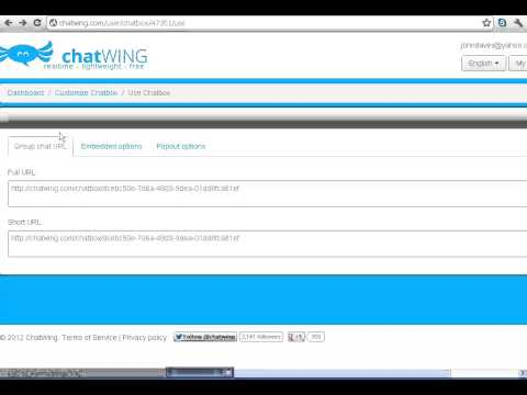Google Website Chat
