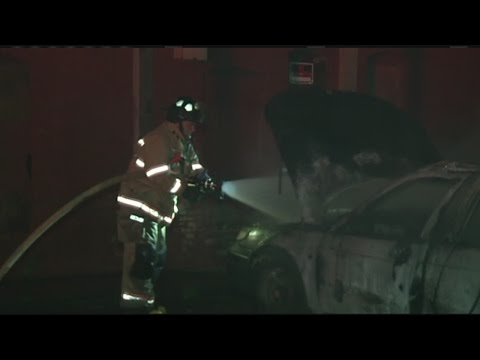 Early morning car fire in Holyoke