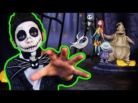Nightmare Before Christmas | Learn to Face Paint!