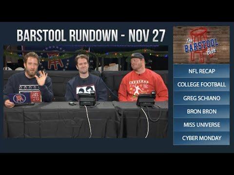 Barstool Rundown - November 27, 2017