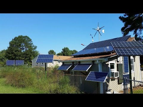 """Solar Electric PV And Wind Home Power Bill  """"1"""" kWh September 2016  By KVUSMC"""
