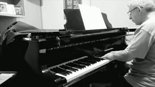 O piano de Gilberto Mendes ao cair da tarde