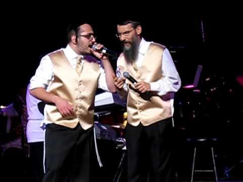 Mordechai Ben David, Avraham Fried, Lipa Schmeltzer, Shloime Gertner and Yossi Green