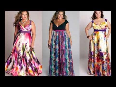 Платья и сарафаны для полных весна-лето 2017