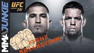 UFC 241 fight breakdown: Anthony Pettis vs. Nate Diaz