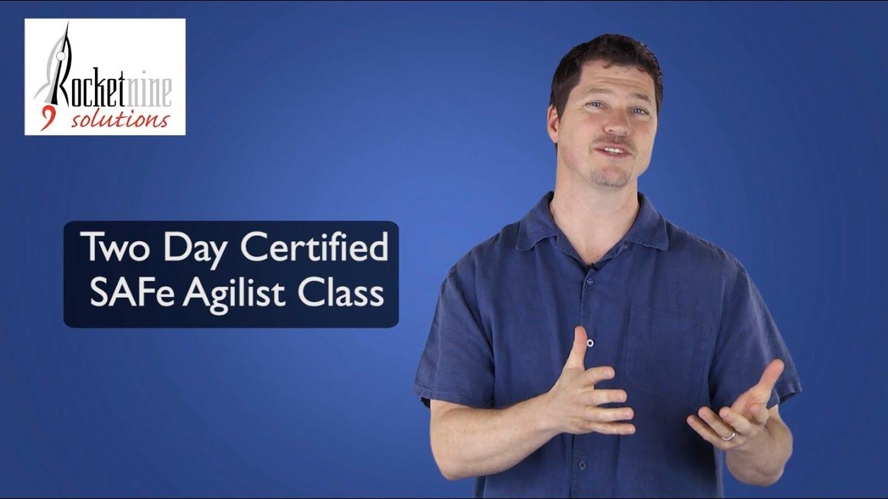 Certified Safe Agilist Vs Scaled Program Consultant Youtube