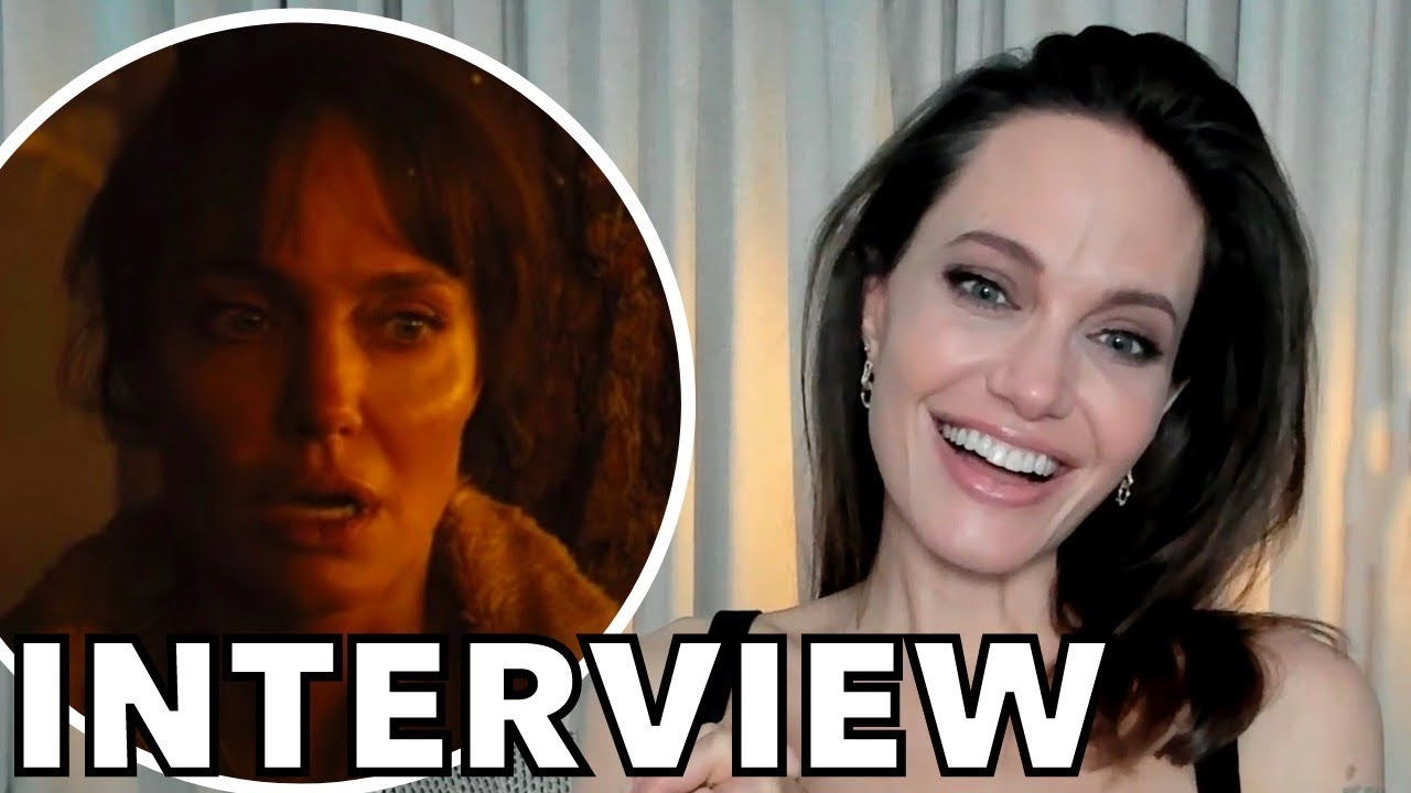 Angelina Jolie On Weirdest Part of Being An Actor, Past Roles and THOSE WHO WISH ME DEAD | INTERVIEW
