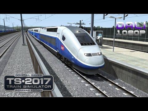 Train Simulator 2017: Pioneers Edition LGV: Marseille - Avignon PC Gameplay 1080p 60fps