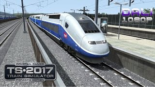 Train Simulator 2017: Pioneers Edition LGV: Marseille - Avignon PC Gameplay 1080p 60fps