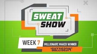 DraftKings Monday Night Sweat Show - Week 7