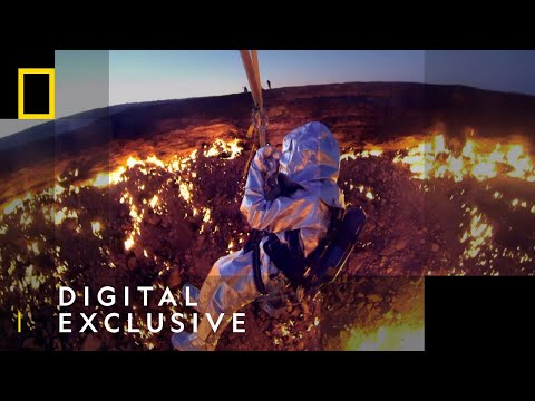 Flying Over Fire | Die Trying | National Geographic UK