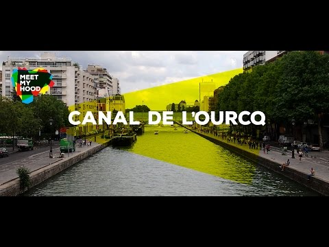 Meet My Hood - Canal de l'Ourcq, Paris