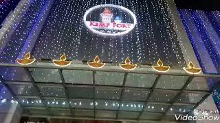Diwali Celebration in Bangalore Shopping Mall: Kemp Fort Mall,Old Airport Road