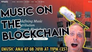 Music on the Blockchain - eMusic AMA