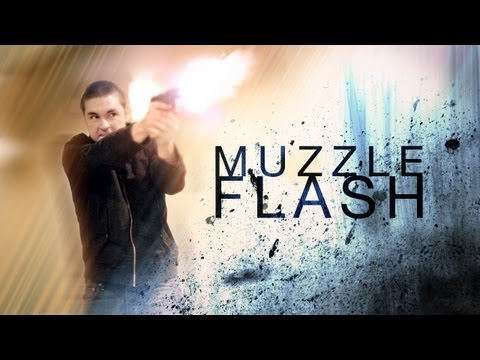 Muzzle flashes & gun fire in After Effects by Rich Young