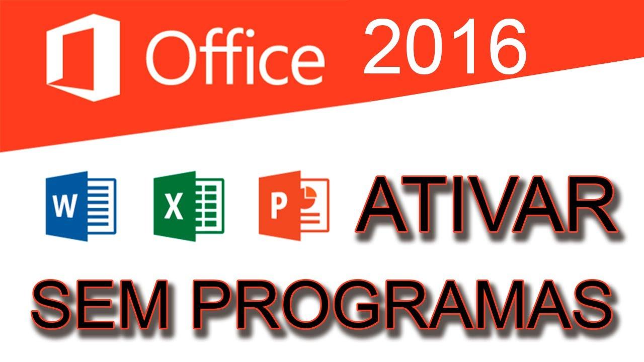 ativar office 2016 download