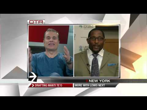 ee3aa6313 OTR  Interview with Ray Lewis - YouTube
