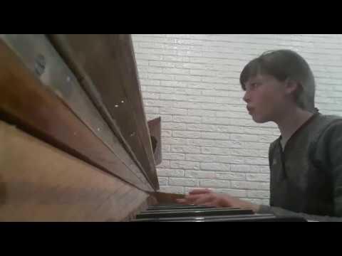 Л.Бетховен Отрывок из первой части Симфонии №5 до минор. Исполняет Рылеева Руслана