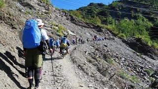 屯原登山口海拔高約1900公尺,至海拔2860公尺的天池山莊,距離為13.1K,...