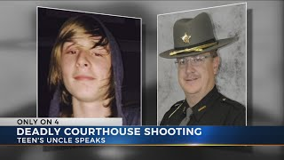 Uncle of teen shot and killed in courthouse calls for independent investigation