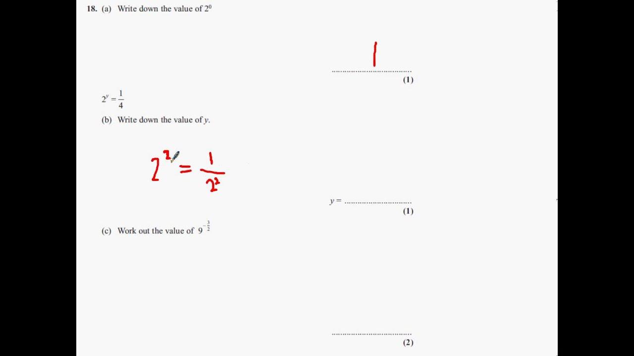 GCSE Maths Past Papers