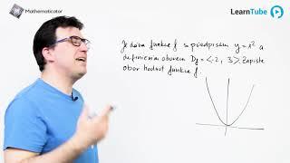 MATURITA Z MATIKY - 6. ŘEŠENÝ PŘÍKLAD - Kvadratická funkce - obor hodnot