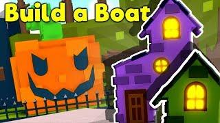 🎃Build a Boat HALLOWEEN UPDATE!! (Boss Fight)