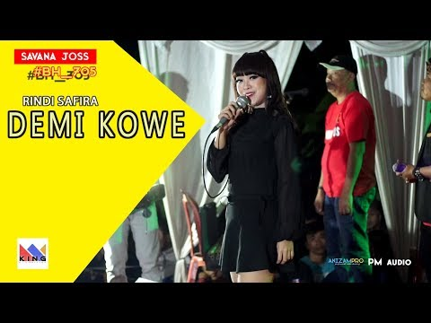 RINDI SAFIRA - ( NEW COVER ) DEMI KOWE - Mantap Jiwa Broo By SAVANA JOS
