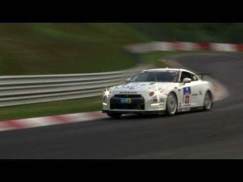 Nissan GT-R at Nurburgring 24h: Race day Highlights