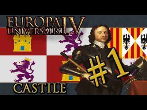 Let's Play Europa Universalis IV – Rule Britannia -  Castile - Part 1