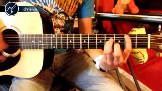 """Cómo tocar """"Chop Suey"""" de System of a Down en Guitarra (HD) Acordes - Christianvib"""