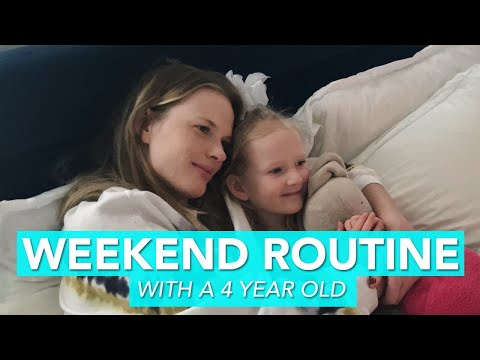 Weekend Routine With My 4 Year Old | Anne V