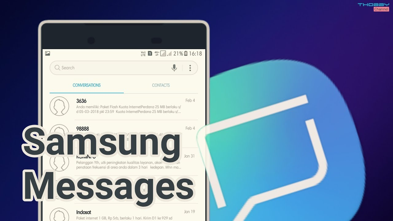 How To Update Messaging V5 App On Any Samsung Oreo Nougat Device Koata Im3 9 Gb