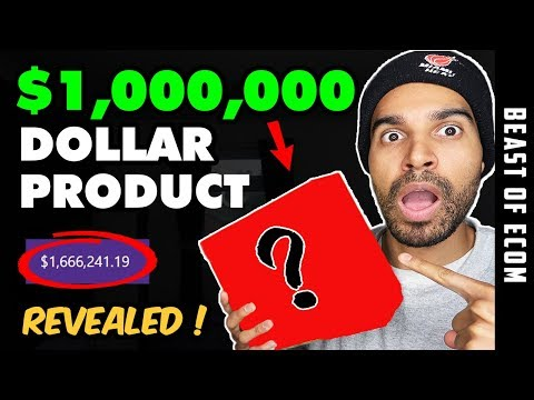 [REVEALED] My $1,000,000 Shopify Product & HOW I found It | Shopify Dropshipping 2019 thumbnail