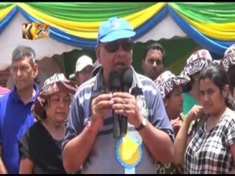 Asian community donates hay to livestock farmers in Kajiado county