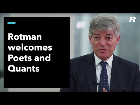 The Rotman School welcomes Poets and Quants
