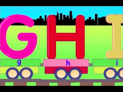 learn alphabet train learning alphabet abc for kids youtube