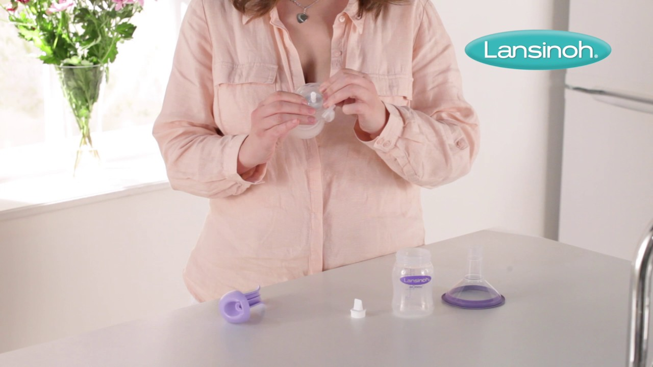 Lansinoh Manual Breast Pump How To Assemble Youtube