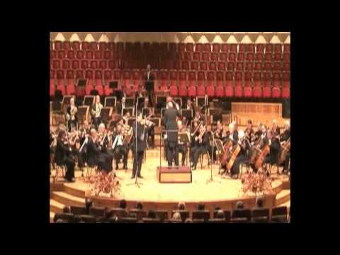 Mendelssohn Violin Concerto op.64 Sandro Tigishvili, Winston Dan Vogel, Tbilisi Symphony
