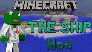 Minecraft: Customize-able Ships (Archimedes Ship Mod 1.6.2)