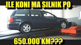 ILE MOCY MA SILNIK  PO 650.000 km ? ROBIMY CHIP TUNING W PASSACIE !!!